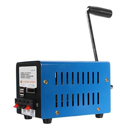 Sonline Haute Puissance Dynamo Chargeur Portable Puissance de Main D'Urgence Main Manivelle Chargement Usb Survie D'Urgence Main Manivelle Générateur