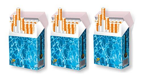 Zigarettenschachtel Überzieher für XL-Schachteln indo slipp Hülle aus Pappe | Größe: Bigpack Normal-Size | Motiv: 019 Pool/Wasser