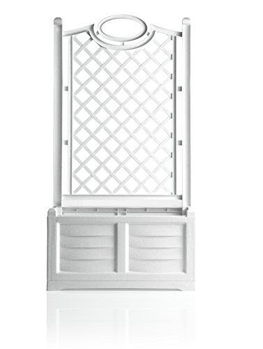 Bama 31981 Fioriera Separe , 80 x 42,5 x 150h cm, Bianco