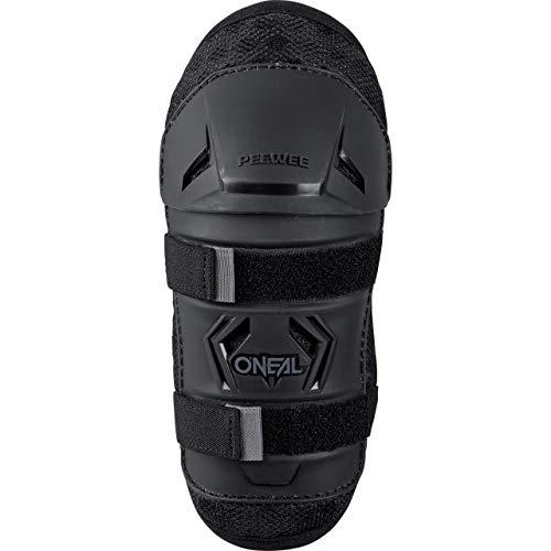 O'NEAL Peewee Knee Guard Kinder Knieschoner schwarz/grau Oneal: Größe: XS/S