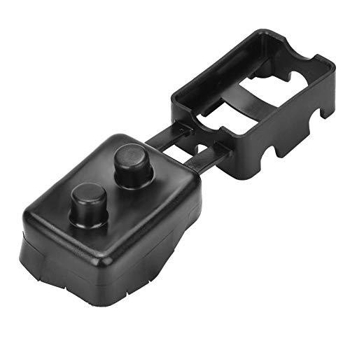 Broco 1Pc Auto Automatische Schalterabdeckung for Kunststoff und Metallbolzen-Schutzschalter Schwarz