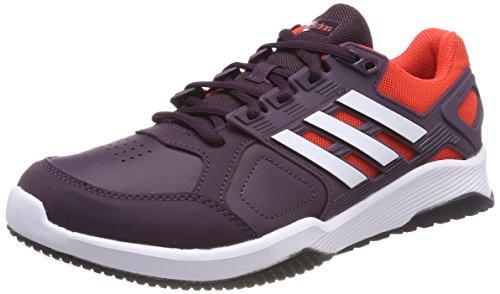 Adidas Duramo 8 Trainer M, Zapatillas de Deporte Hombre, Rojo (Rojnob/Ftwbla/Roalre 000), 40 2/3 EU