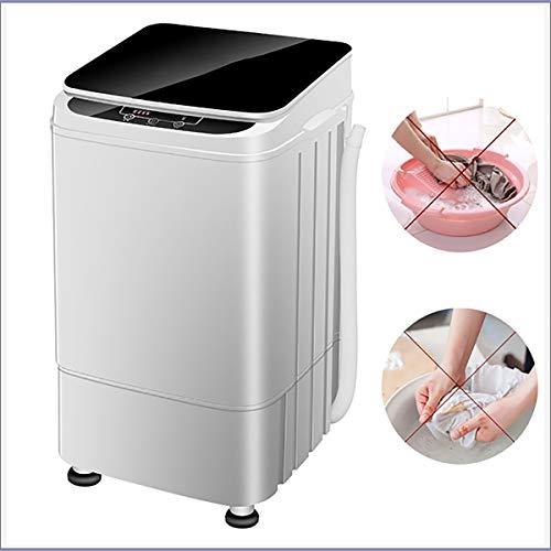 XER Mini Kleine Kompakte Waschmaschine Baby-Kleidung Reinigung 4.5kg Waschen Kapazität 2kg Dehydration Kapazität für Außenwohnwagen Kleine Apartments Reisestudentenwohnheim