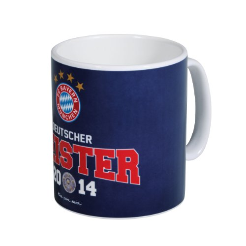 FC Bayern Kaffeebecher Deutscher Meister 2014