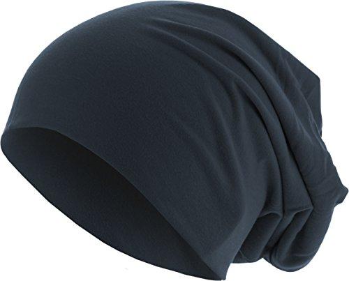 MSTRDS Jersey Beanie Bonnets en Mailles, Blau (Navy 3416), Taille Unique Femme