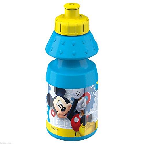 350 ml Disney Mickey Mouse Pour enfant Personnages Plastique 350 ml Sports bouteilles