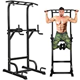 BangTong&Li Power Tower Workout Pull Up & Dip Station Adjustable Multi-Function Home Gym Fitness...