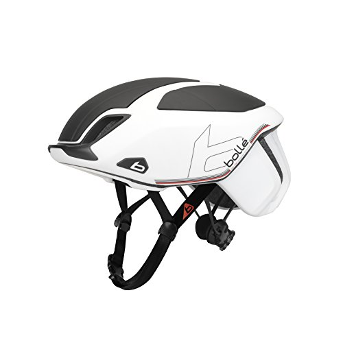 bollé Erwachsene The One Premium Cycling Helmets, White Black, 51-54 cm