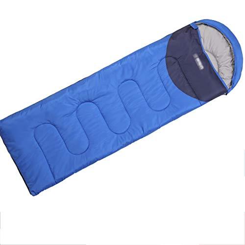 Outdoor-slaapzak, warme, lichte gesplitste omslagzakken met compressiezak. Ideale rugzak voor wandelaars. A2
