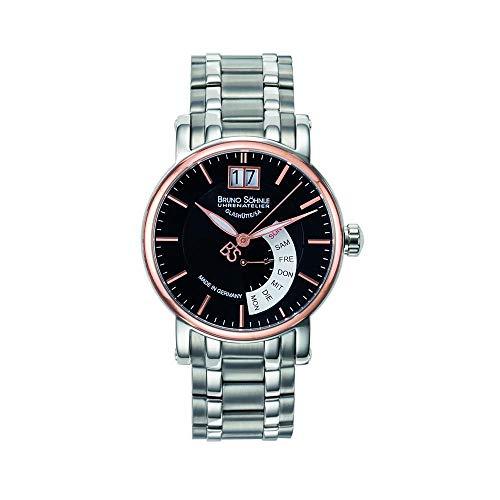 Reloj Cuarzo BRUNO SÖHNLE Glashütte para Hombre con Multicolor Analogico Y Plata Acero Inoxidable 17-63073-746