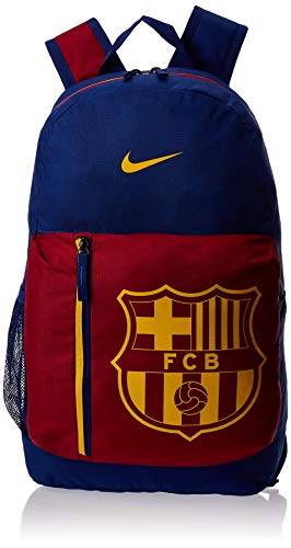 Nike Kinder Stadium FC Barcelona Rucksack, Deep Royal Blue/Noble Red/University Gold, 50 x 30.5 x 15 cm