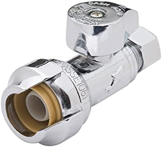 SharkBite 23337-0000LF Shut Off Water Valve, 1/2