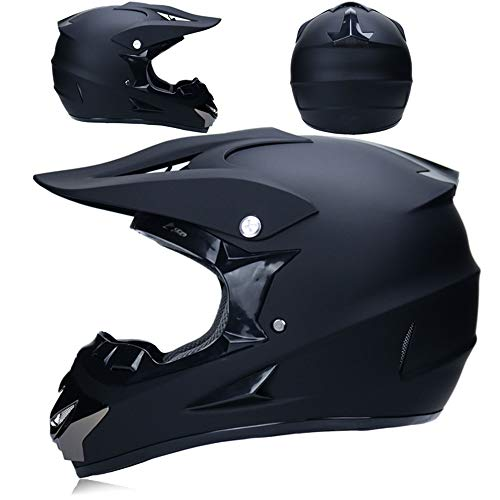 ZYW Voller Helm Professioneller Rennhelm 3 Geschenke Im Freien Motorradhelm Offroad-Absturz Helm Stoßfest Motorradhelmes Senden,Style 1,XL