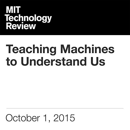 Teaching Machines to Understand Us cover art