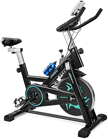 ODOGYM Indoor Cycling Bike Stationary Exercise Bike with Comfortable Seat Cushion Phone Ipad product image
