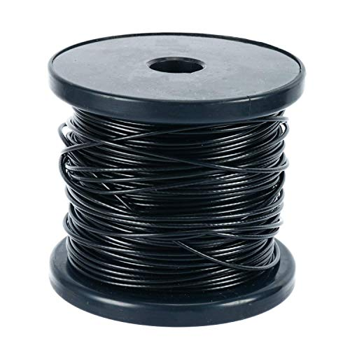NiceDD 150 FT Wire Rope Cable for Turnbuckle and Hooks