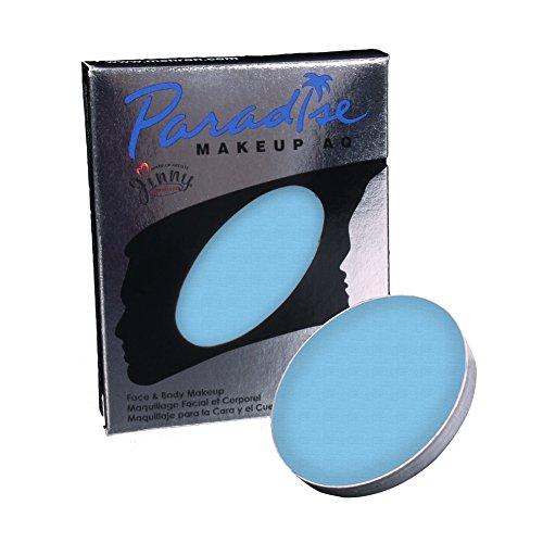 of mehron face paints Mehron Makeup Paradise AQ Refill (.25 ounce) (Light Blue)