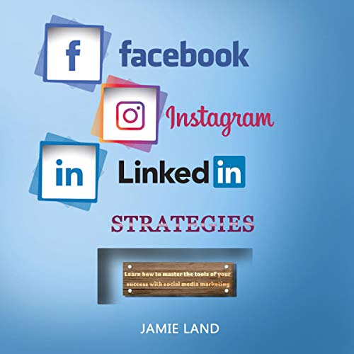 『Facebook Instagram Linkedin Strategies』のカバーアート