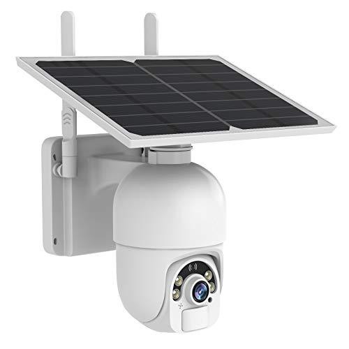 Solar Security Camera Outdoor, SDETER Wireless...