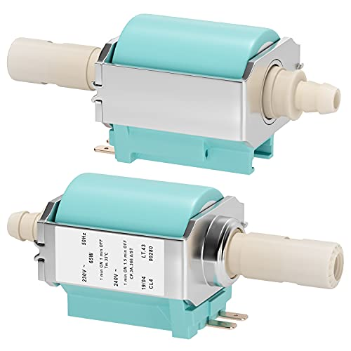 vioks Pompe électrique Pompe à eau Pompe Machine à café Cafetière Convient comme ARS CP 3, 65 W, 15 Bars