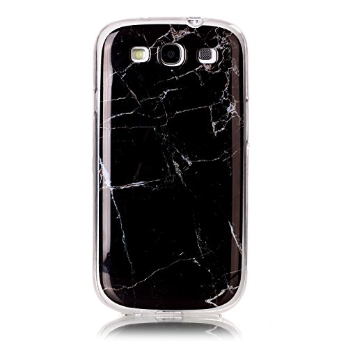 Karomenic Silikon Hülle kompatibel mit Samsung Galaxy S3 Ultra Slim Dünn Schutzhülle Marmor Muster Weiche TPU Handyhülle Stoßfest Kratzfest Stoßfest Bumper Case Cover Tasche Schale,Marmor#12