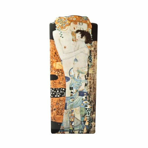 John Beswick 23x 9cm Klimt DREI Lebensalter der Frauen Silhouette d 'Art Vase, Mehrfarbig