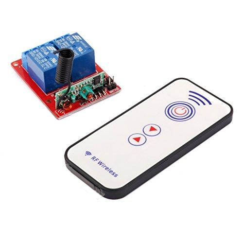sharplace 2Channal Rf 2CH hilos de A distancia relé interruptor módulo 433MHZ 12V
