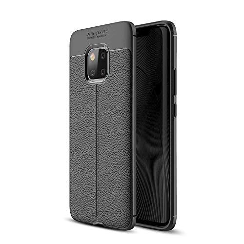 Funda protectora Para Huawei Mate 20 Pro Case, a prueba de golpes Alto Impacto Caso Híbrido Resistente RESPUESTO RESTECTOR PROTECTIVO Anti-Shock Teléfono móvil Resistente al teléfono móvil Caseleather