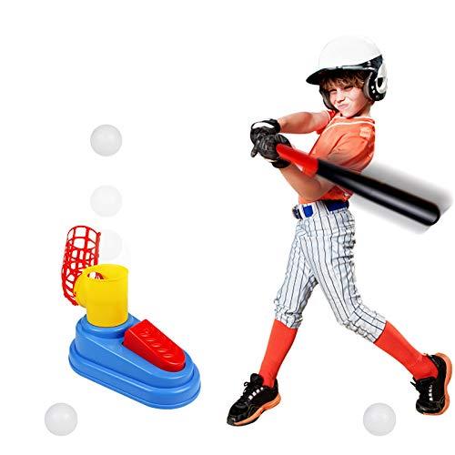 Juegos Jardin Set de Béisbol para Niños con Bate de Beisbol,3 Beisbol Juego Aire Libre de Entrenamiento de Béisbol Regalos para Niños 3 4 5 6 Años