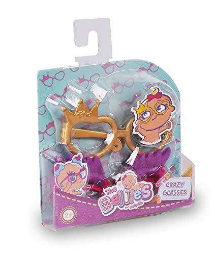 The Bellies - Crazy Glasses, Gafas Divertidas Bellies, Accesorios muñecas para niñas y niños a Partir de 3 años(Famosa 700016224)