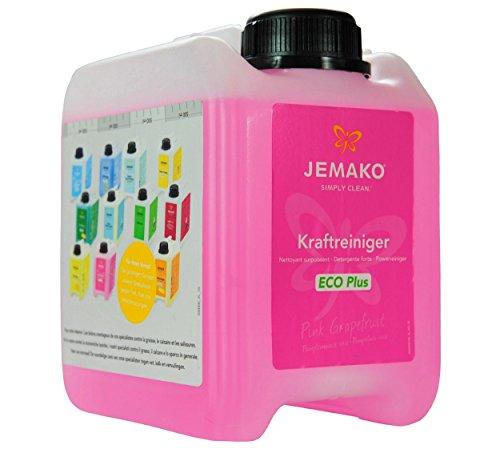 JEMAKO Kraftreiniger Kraftreiniger Pink Grapefruit ECO Plus 2 l 5 l Kanister (2l, Pink Grapefruit ECO Plus)