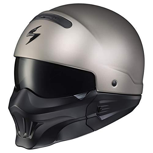 Scorpion Covert Helmet - EVO (Large) (Titanium)