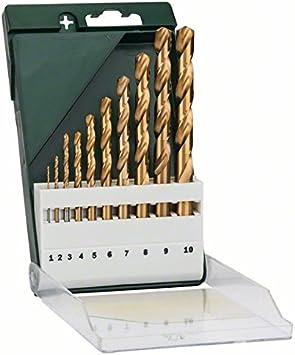 Gripbox 25 brocas HSS Titanio Set de bricolaje BOSCH 2609255136