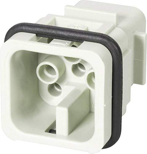 HARTING 0936 008 3001 HAN Series, Plug, PIN ;ROHS Compliant: YES, Crimp, 8, Rectangular Power Connector, Insert