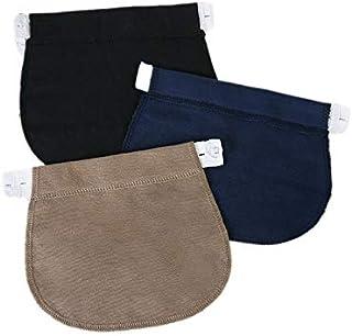 CamKpell Pantaloni per Abbigliamento estensibili Regolabili con Elastico in Vita per Cintura in Gravidanza per Gravidanza-...