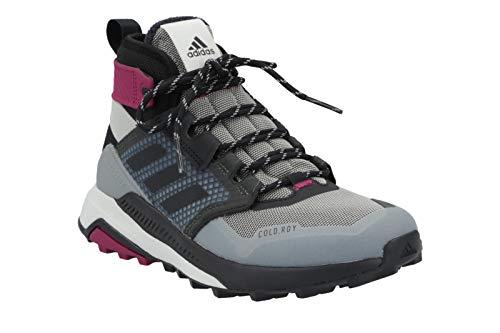 adidas Terrex Trailmaker Mid CRDY W, Zapatillas de Hiking Mujer, GRIMET/NEGBÁS/BAYINT, 43 1/3 EU