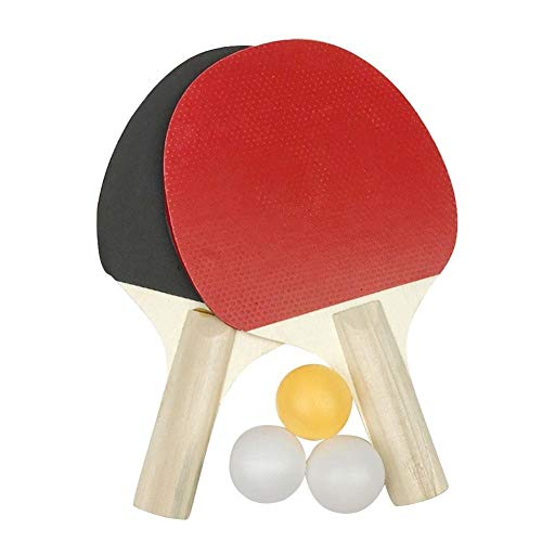 Best Prices! ZKWSJNGD Wooden Table Tennis Racket Tennis Racket Tennis Racket Athletics Durable Color...