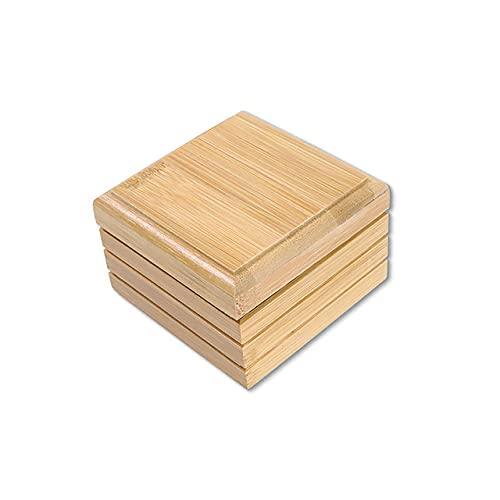 BSDIHRIWEJFHSIE # 50 1pc Bandeja de jabón de Madera de bambú Natural ecológica Bandeja de jabón de Ducha de baño Bandeja de Almacenamiento de Platos Soporte de jabón Productos de baño-F, Alemania