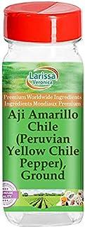 Aji Amarillo Chile (Peruvian Yellow Chile Pepper), Ground (1 oz, ZIN: 526845) - 3 Pack