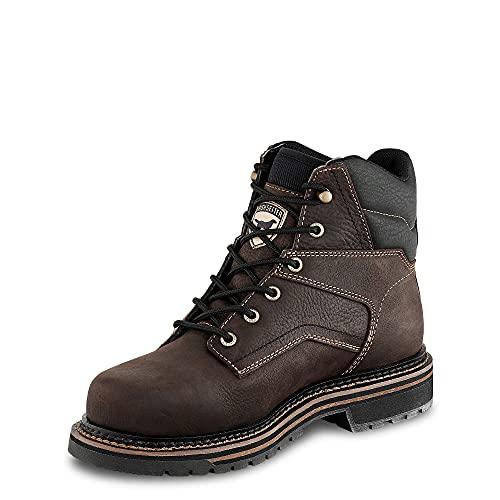 Irish Setter Work Women's Kittson Construction Shoe, Brown, 7.5