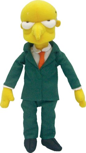 United Labels 0804508 Cartoon Simpson United Mr. Burn in Peluche, 37 Centimetri
