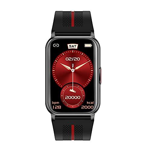 XYJ Kailangde Smart Watch Compatible con iPhone y teléfonos Android IP68 Relojes impermeables para hombres S Plaza SmartWatch Fitness Tracker Monitor de ritmo cardíaco Reloj digital con caras de reloj