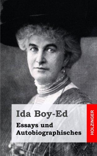 Essays und Autobiographisches