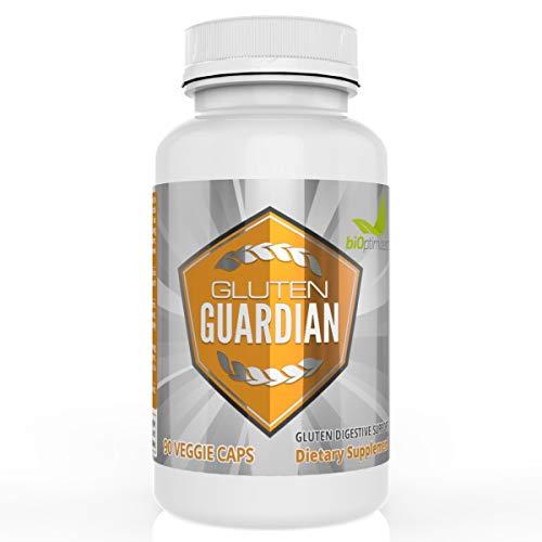 Gluten Guardian - Enhanced Gluten Defense - Avoid Toxic Gluten Effects - No Artificial Ingredients - Premium Gluten Digestive Enzymes - 90 Capsules