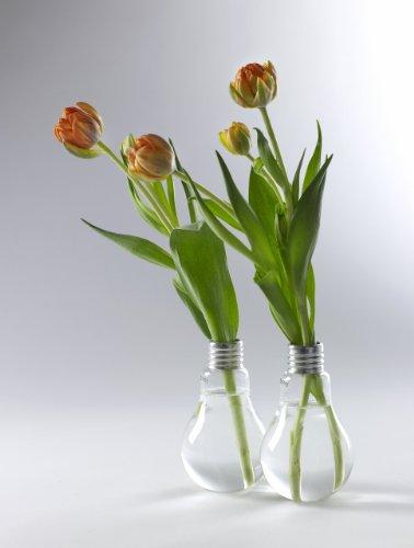 Serax Design-Vase EDISON, Glasvase in Glühbirnenform, Höhe:16 cm