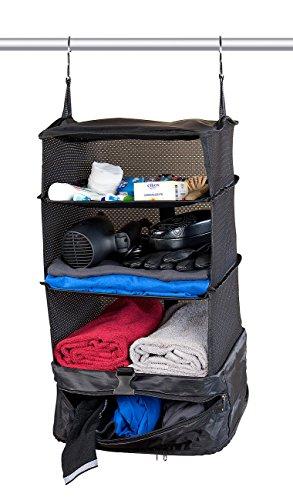 Xcase Koffer Ordnungssystem: XL-Koffer-Organizer, Packwürfel zum Aufhängen, 30 x 64 x 30 cm (Koffer Ordnungssysteme)