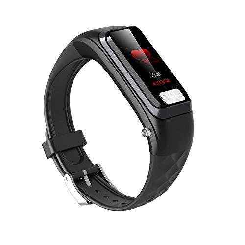 Smartwatch Reloj Inteligente y Auriculares Bluetooth 2 en 1 para Hombres y Mujeres, ECG Llamada a la presión Arterial Dormir Ejercicio Monitor de Pulsera Inteligente, para teléfono Android del iPhone