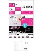 エーワン 保護シール 透明保護フィルム 63×36mm 79221 『 × 3 パック 』 + 画材屋ドットコム ポストカードA