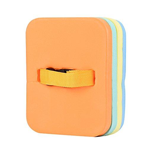 QIjinlook Schwimmhilfe - Eva-Schaum Boje - für Wassersport und Schwimm-Training - sichere Schwimm-Hilfe - Zuhause Kids Schwimmen Float Ringe - Schwimmen-Hilfe für Kinder (Blau, Orange, Gelb)