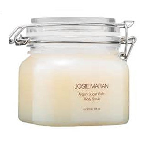 Josie Maran Argan Sugar Balm Body Scrub Strawberries and Whipped Cream 10...